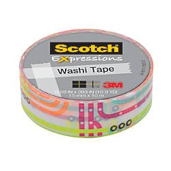 Scotch Expressions Washi Tape 58 x