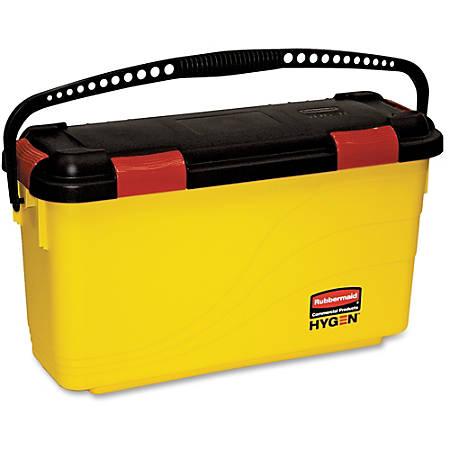 "Rubbermaid Commercial Hygen Charging Bucket - 12.2"" x 8.8"" - Yellow"