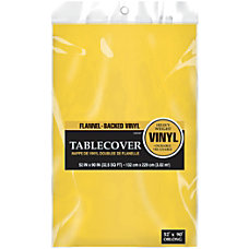 Amscan Flannel Backed Vinyl Table Cover