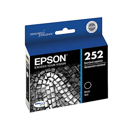 Epson® DuraBrite® Ultra Standard-Capacity Black Ink Cartridge
