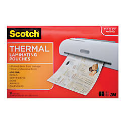 Scotch TP3856 25 Laminating Sheets 11