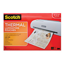 Scotch TP3856 25 Laminating Sheets 11