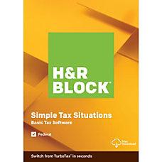 H R Block 2019 Basic For