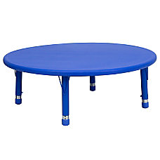 Flash Furniture Round Adjustable Activity Table
