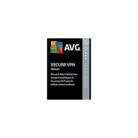 AVG Secure VPN 2020 | 5 Devices 1 Year | Download