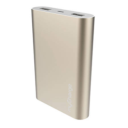 myCharge® RazorUltra Universal Battery Charger For USB Devices, Gold, RZ12D