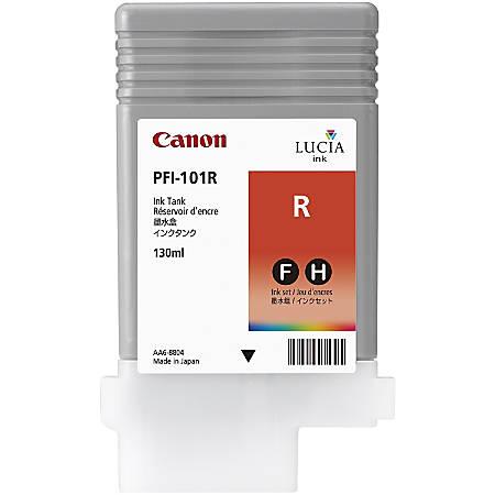 Canon PFI-101R Original Ink Cartridge