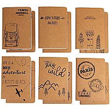 Kraft Notebook 12 Pack Lined Notebook