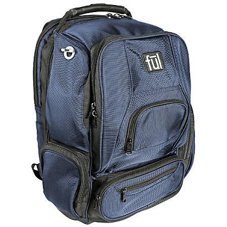 ful Upload Laptop Backpack, Navy