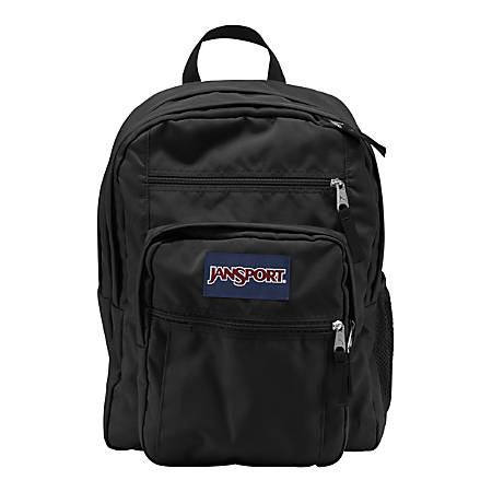 ca7bddb46438 JanSport Big Student Laptop Backpack Black - Office Depot