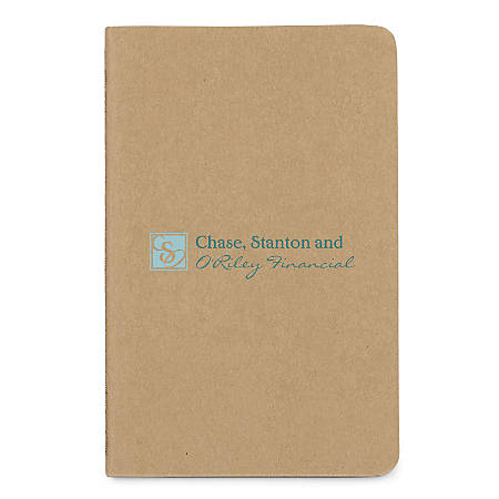 """Moleskine Cahier Squared Large Notebook, 5"""" x 8 1/4"""", 160 Pages (80 Sheets), FSC® Certified, Assorted Colors"""