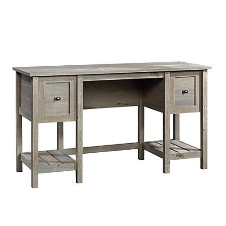 Sauder® Cottage Road Desk, Mystic Oak