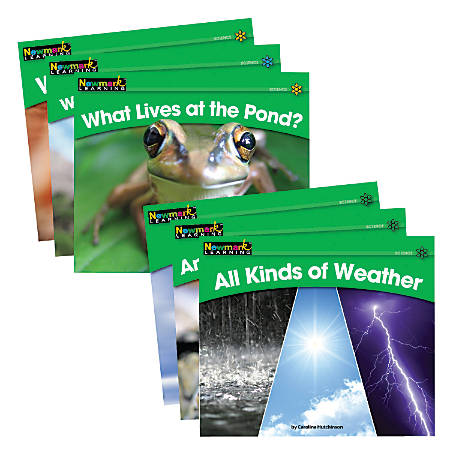 Newmark Learning Rising Readers Science Set Volumes 1 And 2, Pre-K - Grade 2, Set Of 24