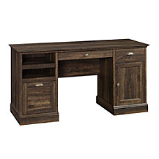 Sauder Barrister Lane Executive Desk Iron