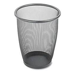 Safco Mesh Wastebasket 5 Gallons Black