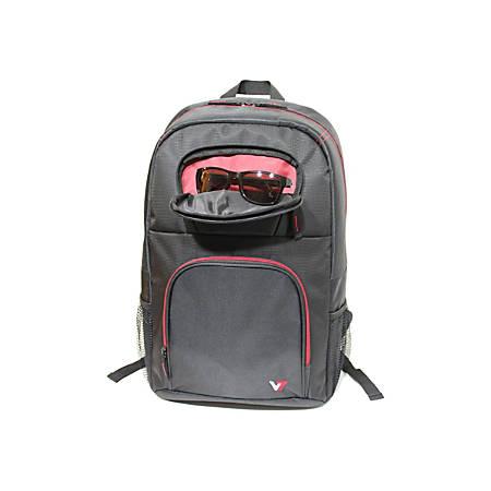 V7 VANTAGE CBV21RT-9N Laptop Backpack, Black