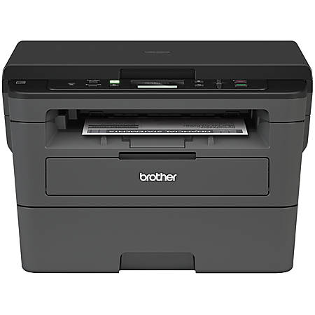 Brother Wireless Monochrome Laser All-In-One Printer, Scanner, Copier, HL-L2390DW