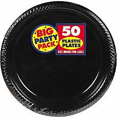 Amscan Plastic Plates 10 14 Jet