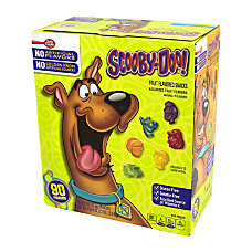 Scooby Doo Fruit Flavored Snacks 08