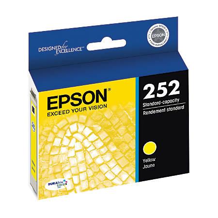 Epson® DuraBrite® Ultra T252420-S Yellow Ink Cartridge