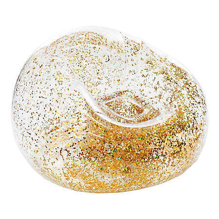 BloChair Glitter Inflatable Chair, Gold