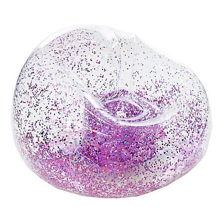 BloChair Glitter Inflatable Chair, Pink