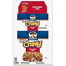 Quaker Oats Chocolate Chip Big Chewy