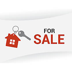 Aluminum Sign For Sale House And