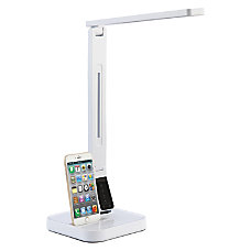 Lorell LED Station USB Desk Lamp