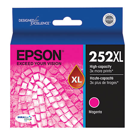 Epson® DURABrite Ultra T252XL320-S High-Yield Magenta Ink Cartridge