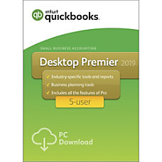 QuickBooks Desktop Premier 2019 For 5