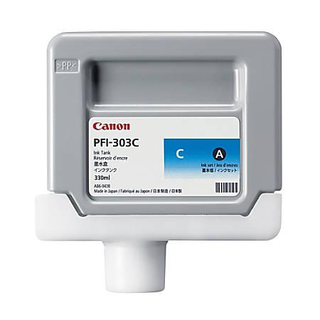 Canon PFI-303C Cyan Ink Cartridge (2959B001AA)