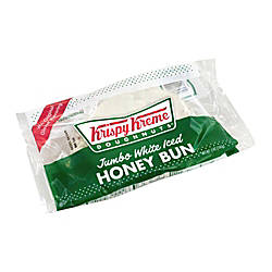 Krispy Kreme Jumbo White Iced Honey