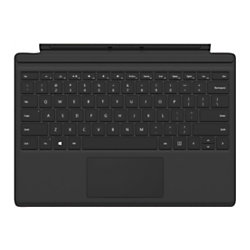 Microsoft® Surface Pro 4 Type Cover, Black, QC7-00001