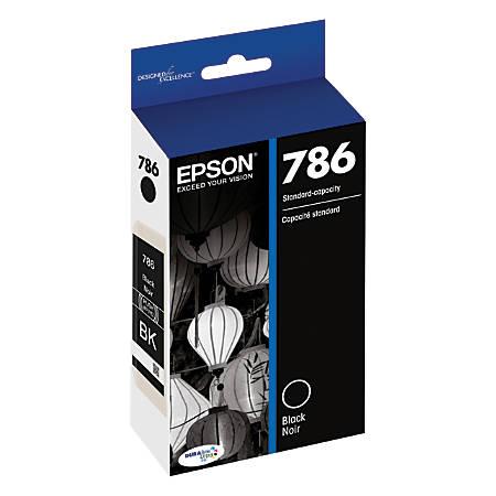 Epson® DuraBrite® Ultra T786120-S Black Ink Cartridge