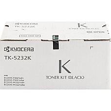 Kyocera TK 5232K Original Toner Cartridge