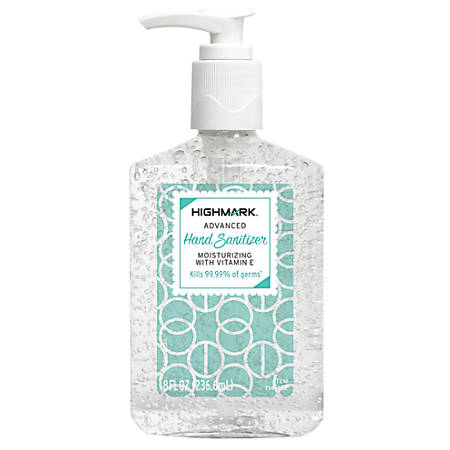 Highmark® Original Hand Sanitizer, 8 Oz