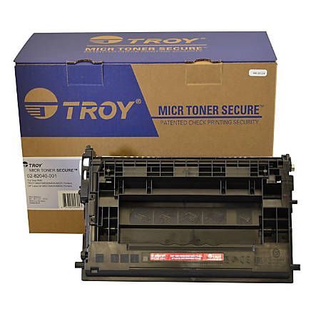 Troy 02-82041-001 (HP CF237X) High-Yield Black MICR Toner Cartridge