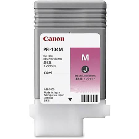 Canon PFI-104M Original Ink Cartridge - Inkjet - Magenta - 1 Each