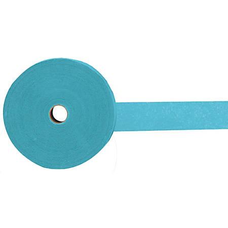 Amscan Jumbo Crepe Paper Streamers, 500', Caribbean Blue, Pack Of 6 Rolls