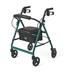 Guardian Basic Rollator 6 Wheels Green