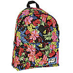 Caliware Cotton Backpack Large Capacity Floral