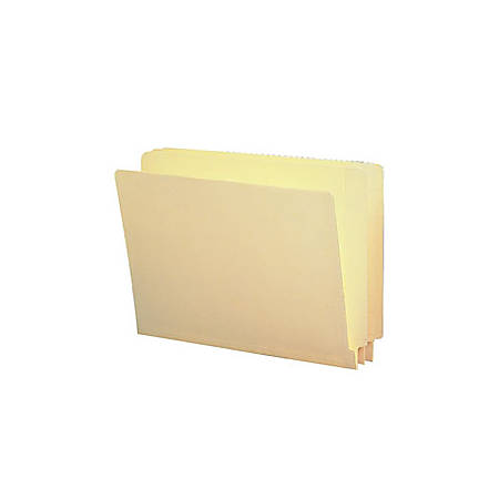 Smead® End-Tab File Folders With Antimicrobial Product Protection, Straight Cut, Letter Size, Pack Of 100
