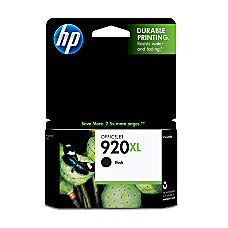 HP 920XL Black Ink Cartridge CD975AN