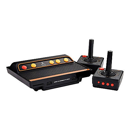 Atari Flashback 9 Gold, Black