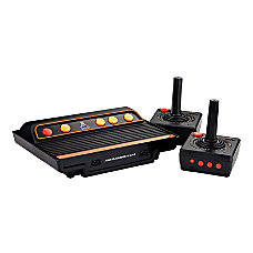 Atari Flashback 9 Gold Black