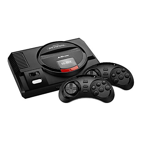 At Games Sega Genesis Flashback, Black