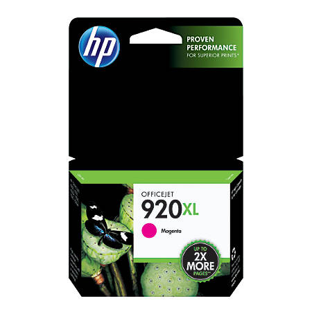 HP 920XL, Magenta Original Ink Cartridge (CD973AN)