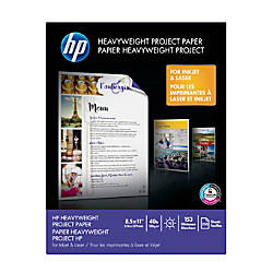 Hewlett Packard Heavyweight Project Paper Letter