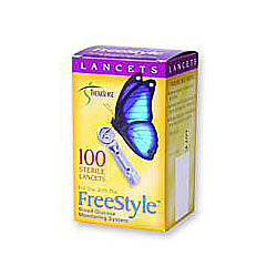 FreeStyle Sterile Lancets 28 Gauge Box